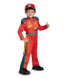 Disguise Costumes Kids Lightning McQueen Classic Costume