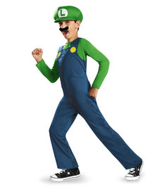 Disguise Costumes Boy's Luigi Costume