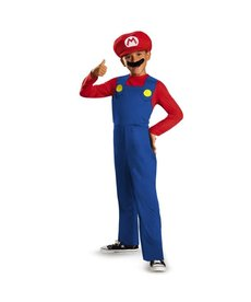 Disguise Costumes Boy's Mario Costume