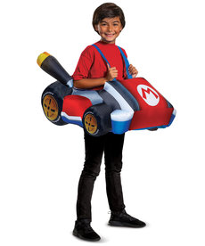 Disguise Costumes Kids Mario Kart Inflatable Costume