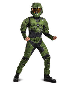 Disguise Costumes Boy's Halo Infinite: Master Chief Costume with Muscles
