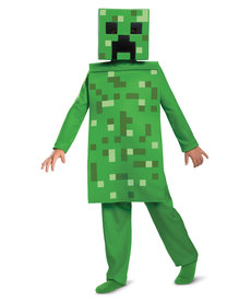 Disguise Costumes Kids Minecraft Creeper Jumpsuit