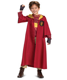 Disguise Costumes Kids Deluxe Harry Potter Quidditch Robe