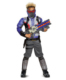 Disguise Costumes Boy's Soldier: 76 Costume with Muscles (Overwatch)