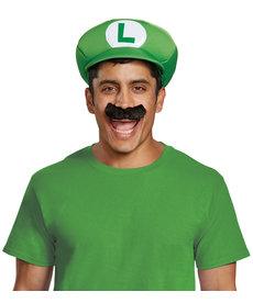 Disguise Costumes Luigi Hat & Mustache Kit: Adult