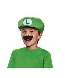 Disguise Costumes Luigi Hat & Mustache Kit: Child