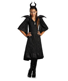 Disguise Costumes Kids Maleficent Christening Black Gown Classic Costume