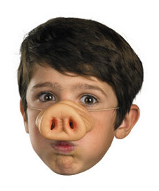 Disguise Costumes Pig Nose: One Size