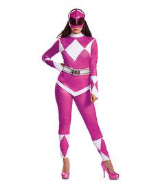 Disguise Costumes Women's Deluxe Pink Ranger Costume