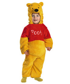 Disguise Costumes Kids Deluxe Plush Winnie the Pooh Costume