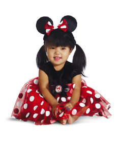 Disguise Costumes Infant Red Minnie Deluxe Costume