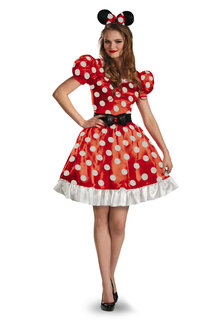 Minnie Mouse Ears Headband Polka Dot Kids Adults Disney Fancy Dress