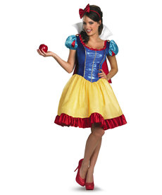 Disguise Costumes Women's Snow White Fab Deluxe Costume