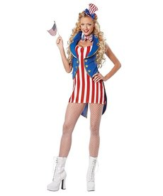 California Costumes Women's Miss Independence Costume