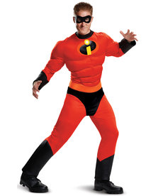 Disguise Costumes Men's Classic Mr. Incredible Costume