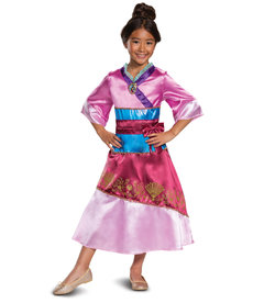Disguise Costumes Kids Mulan Classic Costume