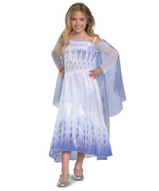 Disguise Costumes Girl's Deluxe Elsa Snow Queen Costume