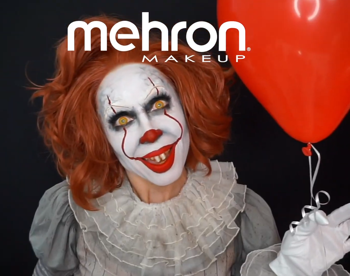 Creepy Evil Clown Makeup Tutorial