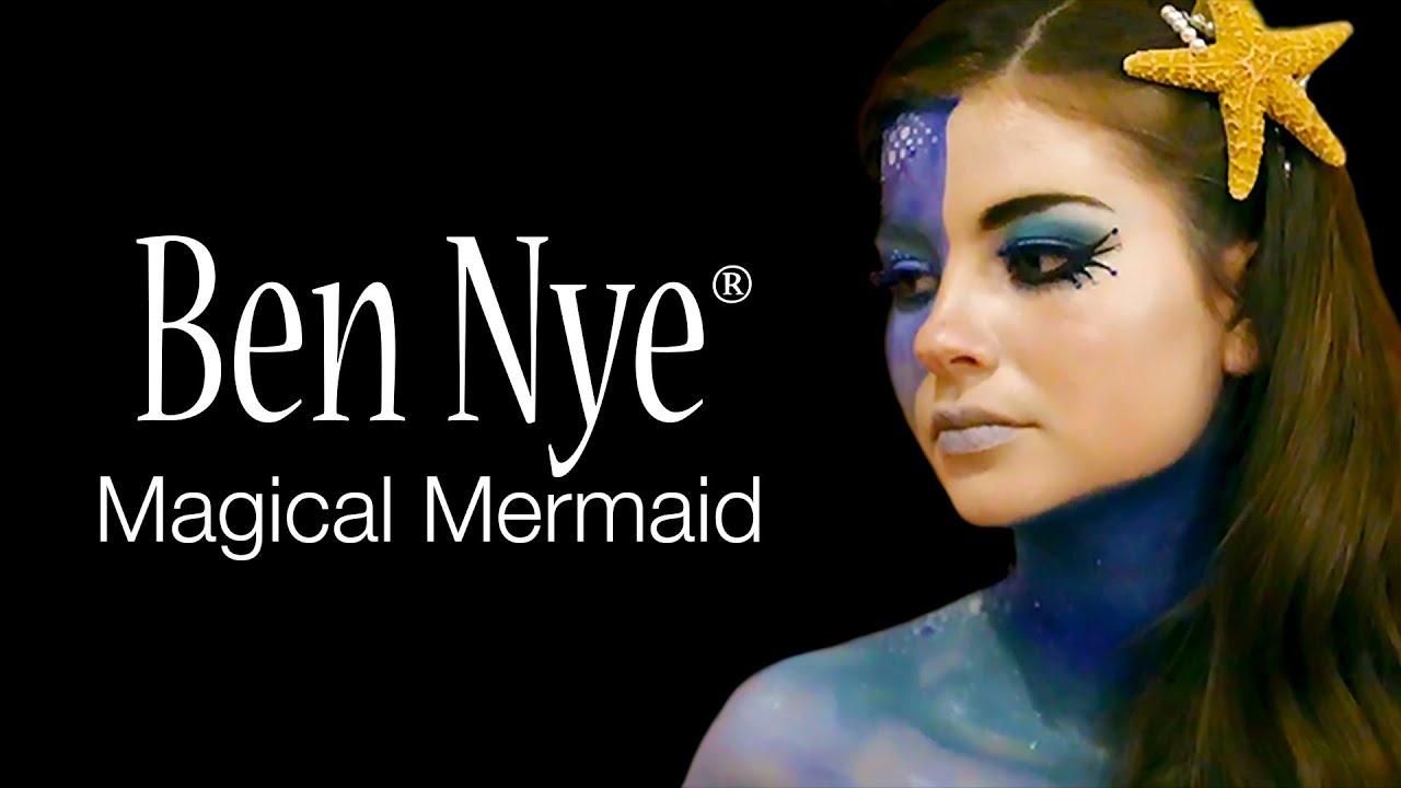 Ben Nye's Magical Mermaid Makeup Tutorial