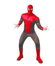 Rubies Costumes Men's Deluxe Spider-Man Red/Black Suit Costume