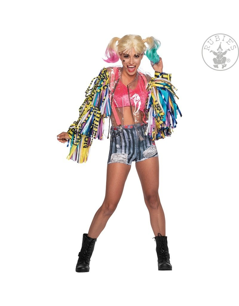 Rubies Costumes Women's Deluxe Harley Quinn Birds of Prey Costume