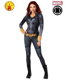 Rubies Costumes Women's Deluxe Black Widow Costume: Black Suit