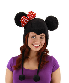 elope Disney Minnie Mouse Hoodie Hat