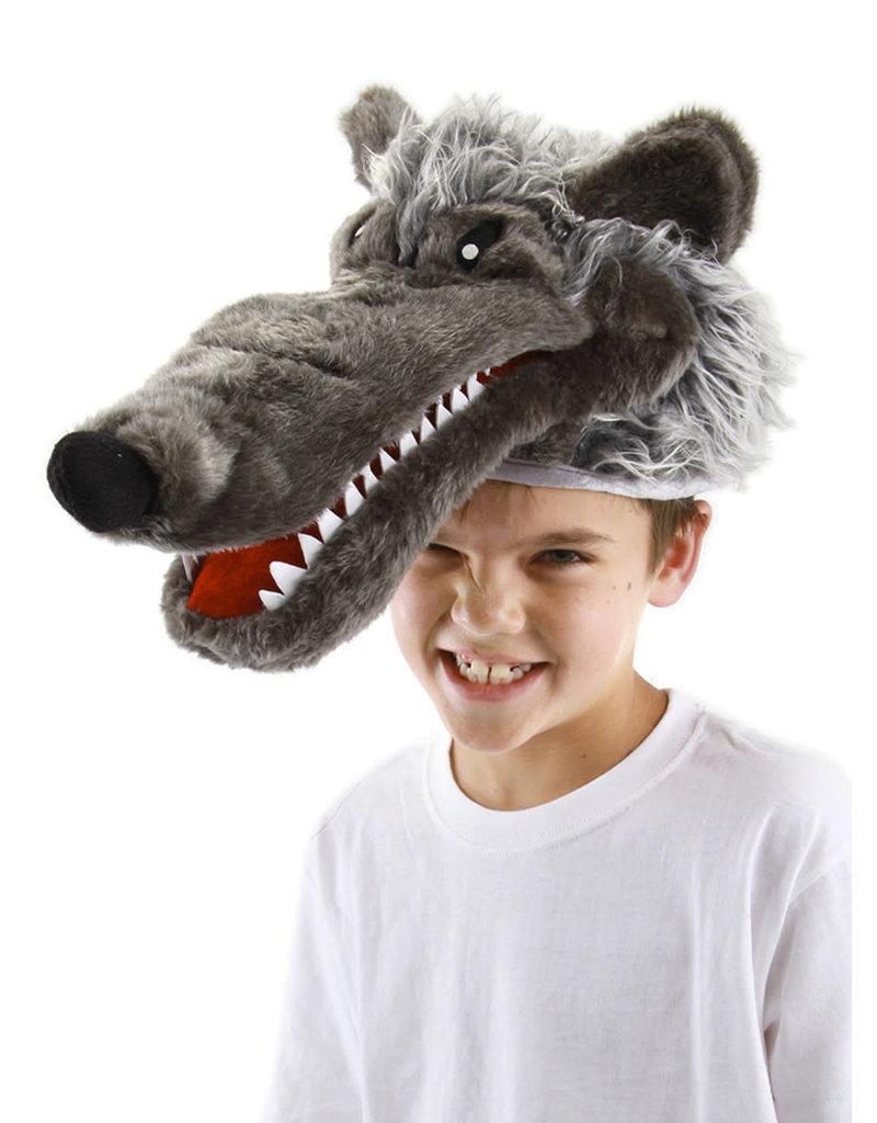 elope elope Big Bad Wolf Plush Hat