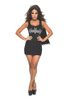 Rubies Costumes Women's Batgirl Tank Dress with Rhinestones