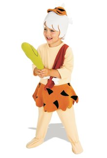 Rubies Costumes Boy's Deluxe Bamm Bamm Rubble Costume
