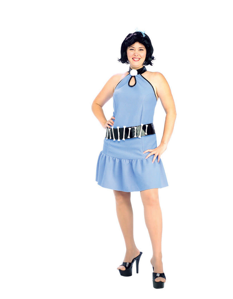 Rubies Costumes Women's Plus Size Betty Rubble Costume