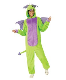 Rubies Costumes Adult Unisex Green Dragon Onesie