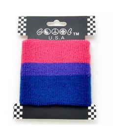 Wristband: Bi Pride (YSWB-489)
