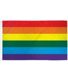 Rainbow Ultra Breeze Flag (3x5Ft)