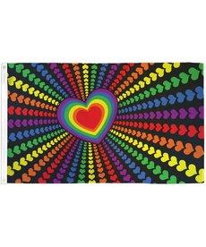 Rainbow Love Flag (3x5Ft)