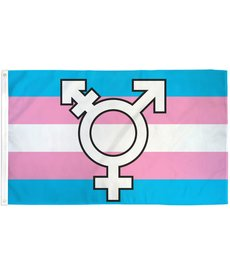 Transgender Symbol Flag (3x5Ft)