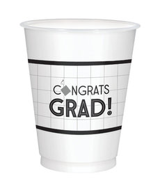 16oz. Graduation Plastic Cups (25ct.)