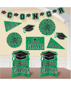 Graduation Room Decorating: Green