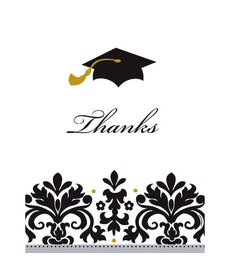 Graduation Postcard Thank You Cards (50 ct.)