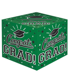 Graduation Card Holder Box: Green