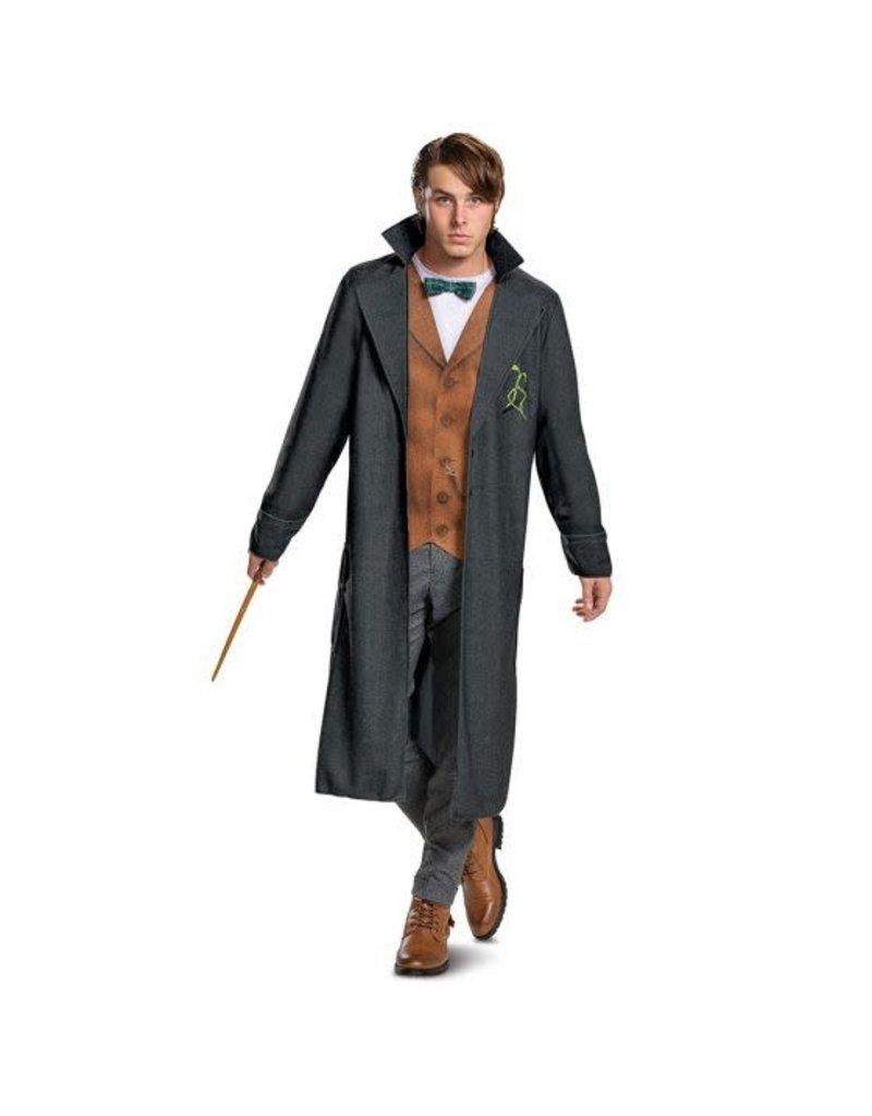 Disguise Costumes Men's Deluxe Newt Scamander Costume