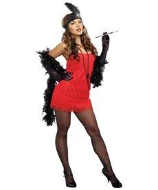 Dream Girl Women's Flapper Starter Dress Costume