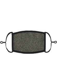 Adjustable Fabric Face Mask: Dark Heather (1pk.)