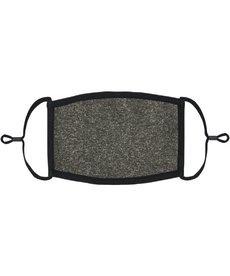 Adjustable Fabric Face Mask: Dark Heather