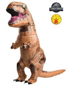 Rubies Costumes Plus Size Inflatable T-Rex Costume: Jurassic World