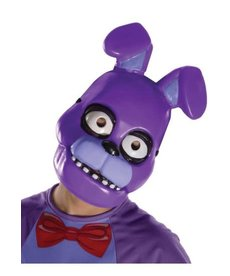 Rubies Costumes Kids Bonnie Half Mask (Five Nights At Freddy's)