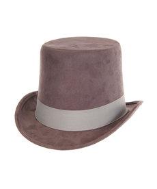 elope elope Steamworks Coachman Gray Hat