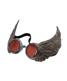 elope Steamworks Silver Winged Goggles