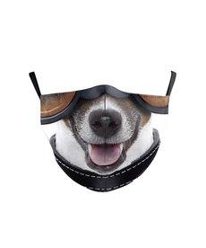 Fashion Face Mask - Dog with Collar