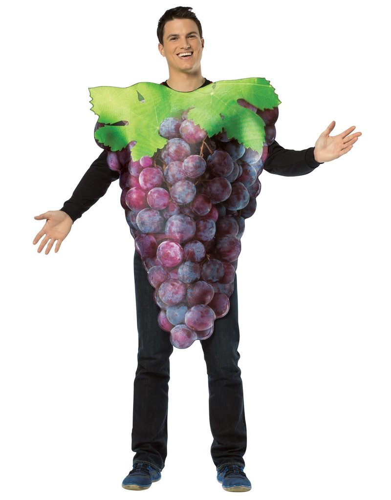 Adult Get Real Grapes Costume